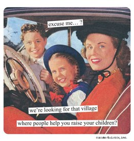 Anne Taintor Village Magnet