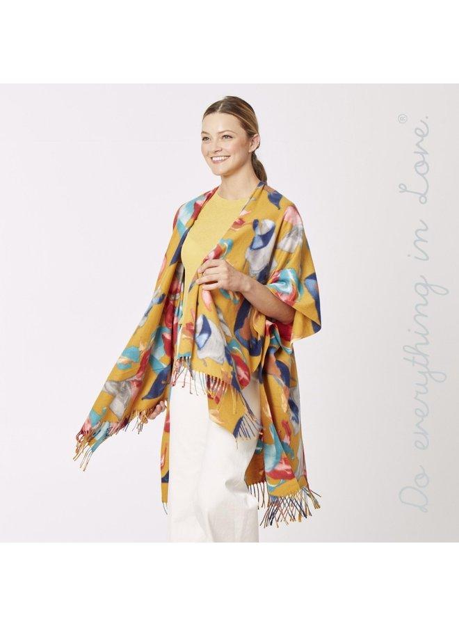 Large Flower Kimono