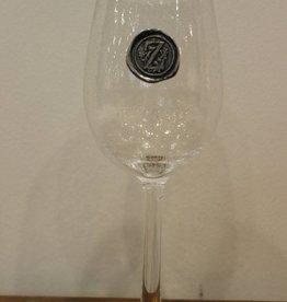 Southern Jubilee Stem Wine Glass-Initial E