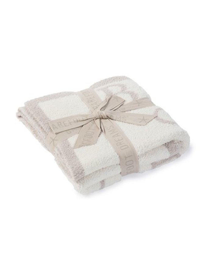 Cozychic ABC Blanket- Stone
