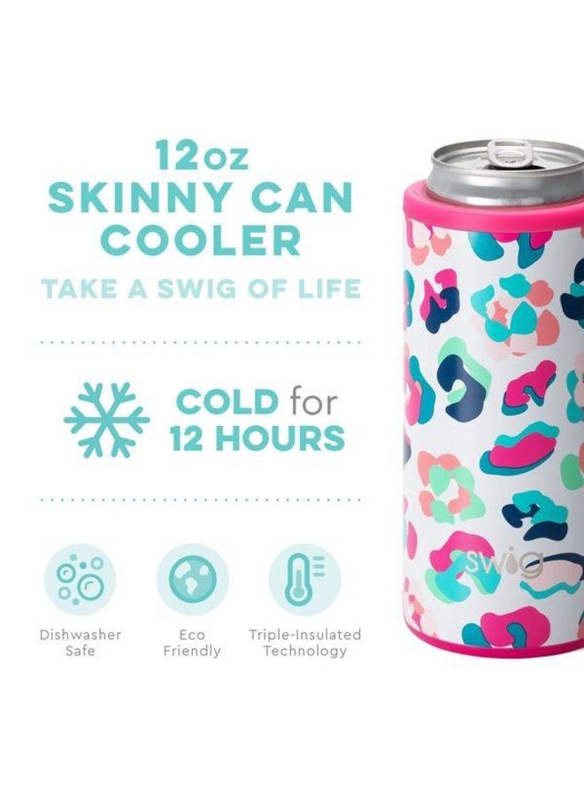 12oz. Skinny Can Cooler-Party Animal