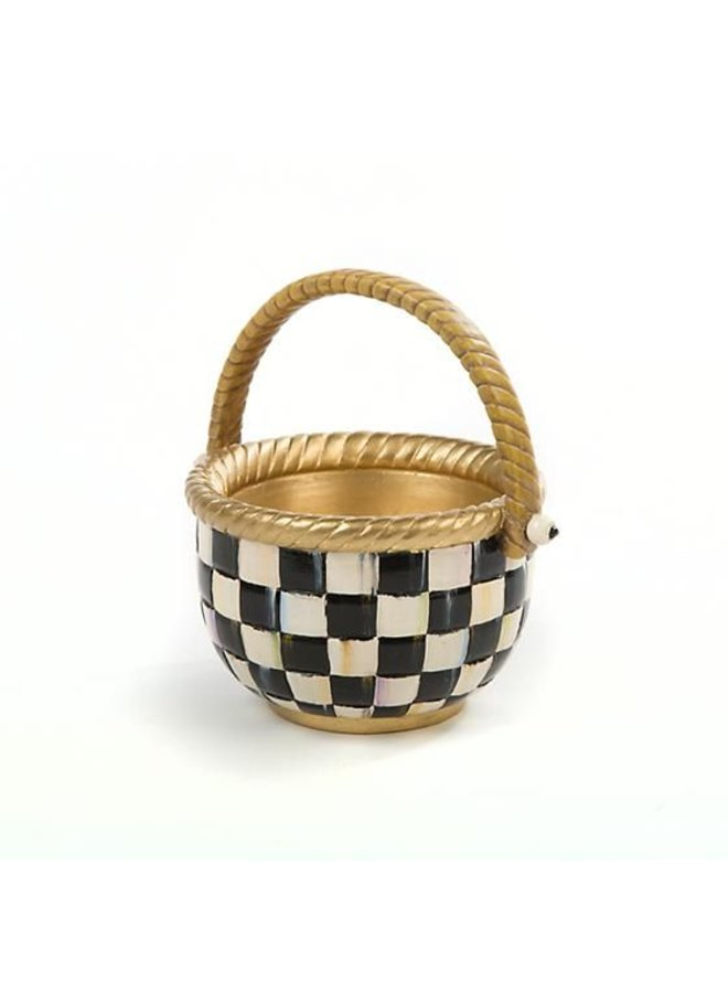 Courtly Check Basket-Small