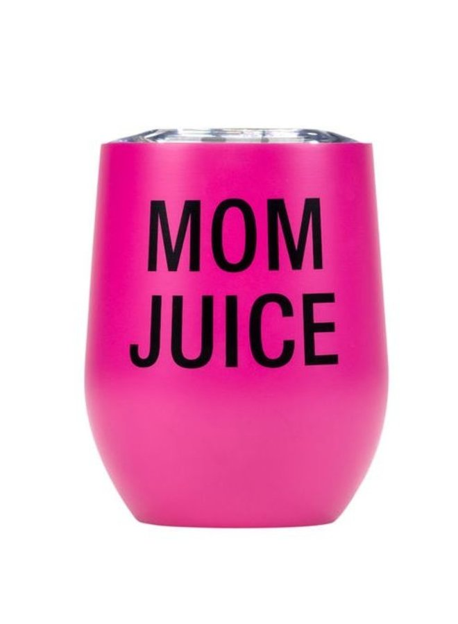 Mom Juice Insulated Wine Tumbler