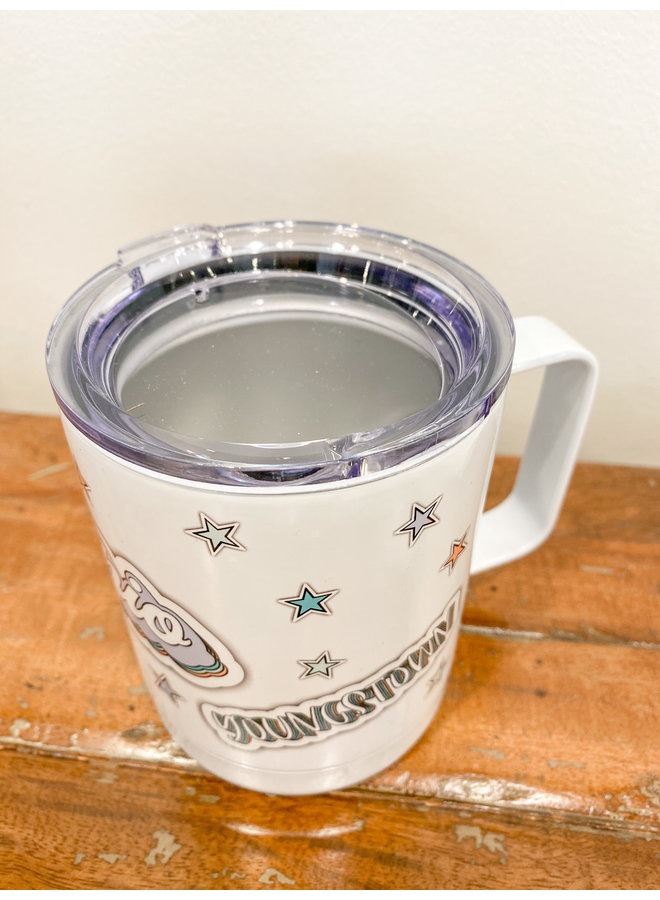 Retro State Stainless Steel Tumbler- Youngstown