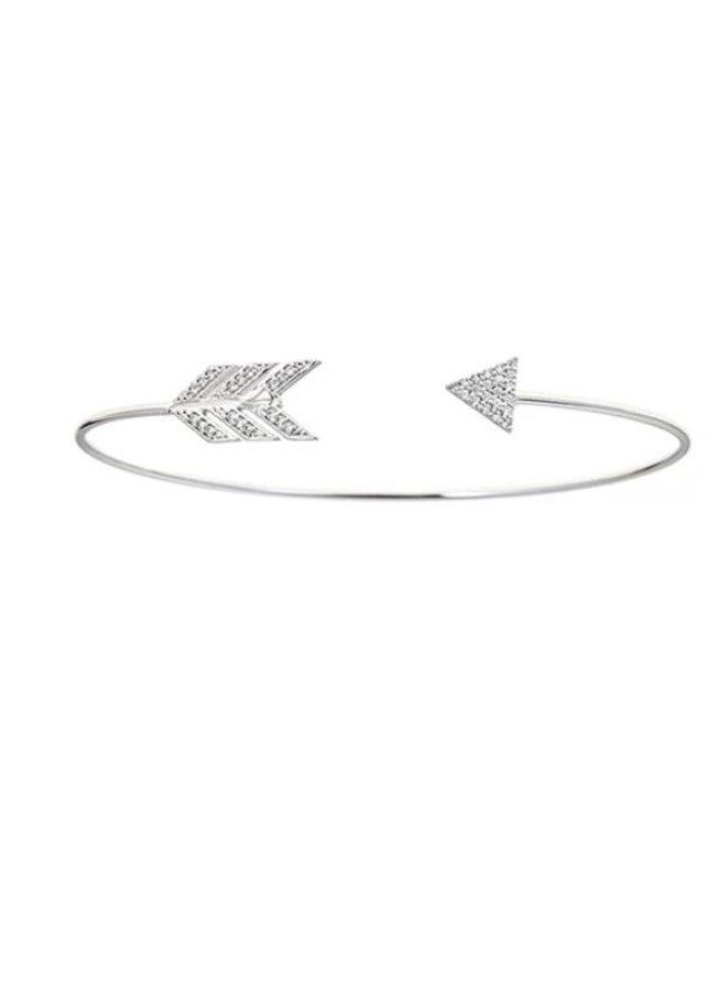 Arrow Cuff Brass Bracelet