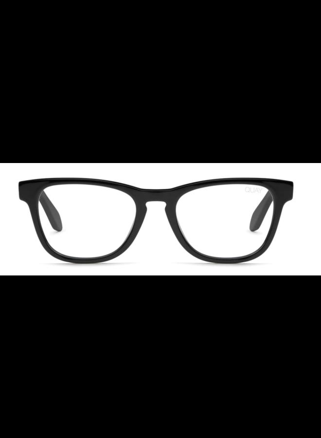 Hardwire Mini Bluelight Glasses-Black/Clear