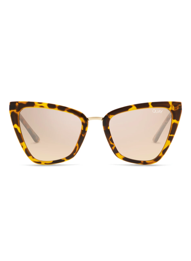 Reina Mini Sunglasses-Tortoise/Brown