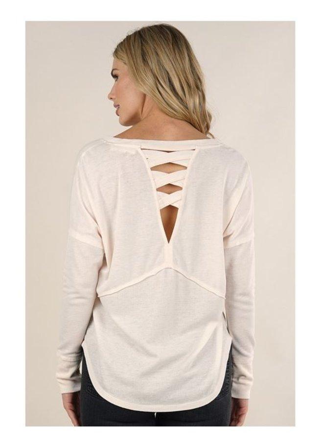 Long Sleeve V Neck Thermal