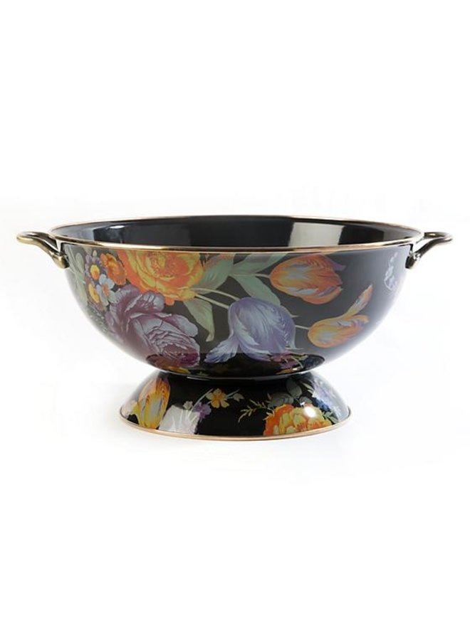 Flower Market Everything Bowl-Black
