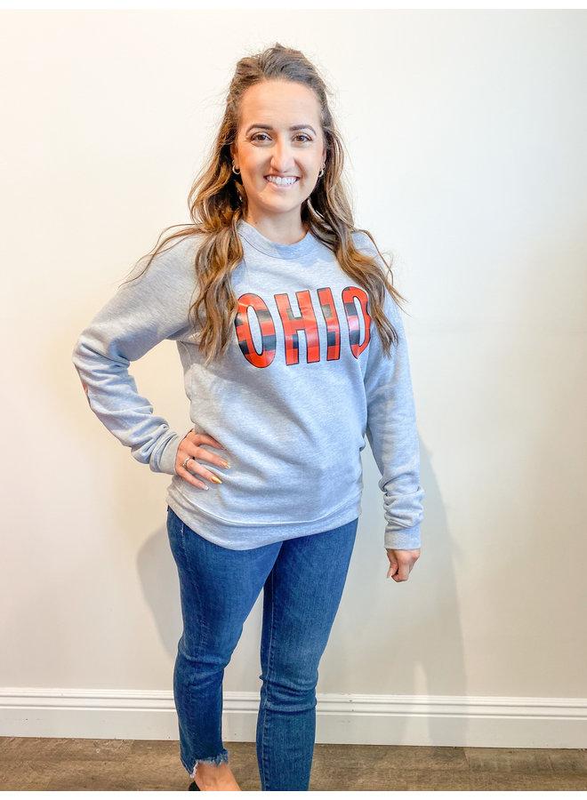 Buffalo Check OHIO Sweatshirt