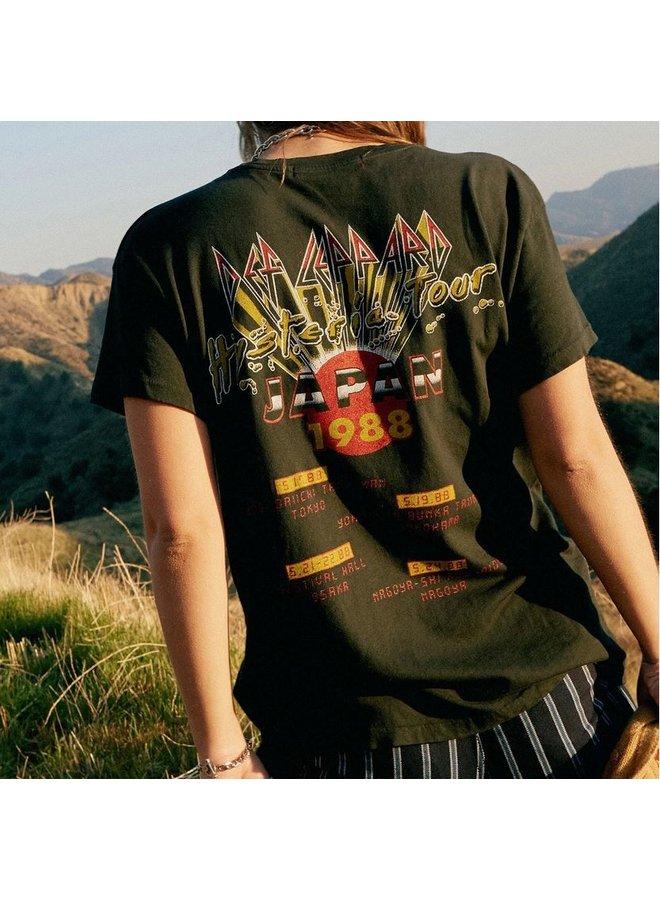 Def Leppard Japan 88 Tour Tee