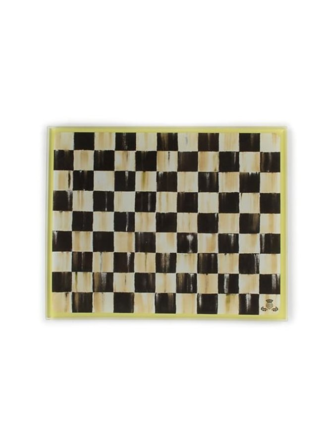 Courtly Check Cutting Board-Small