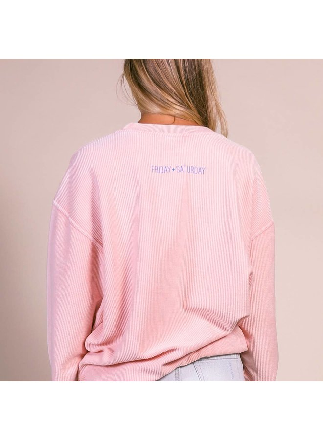 Long Weekend Corded Sweatshirt