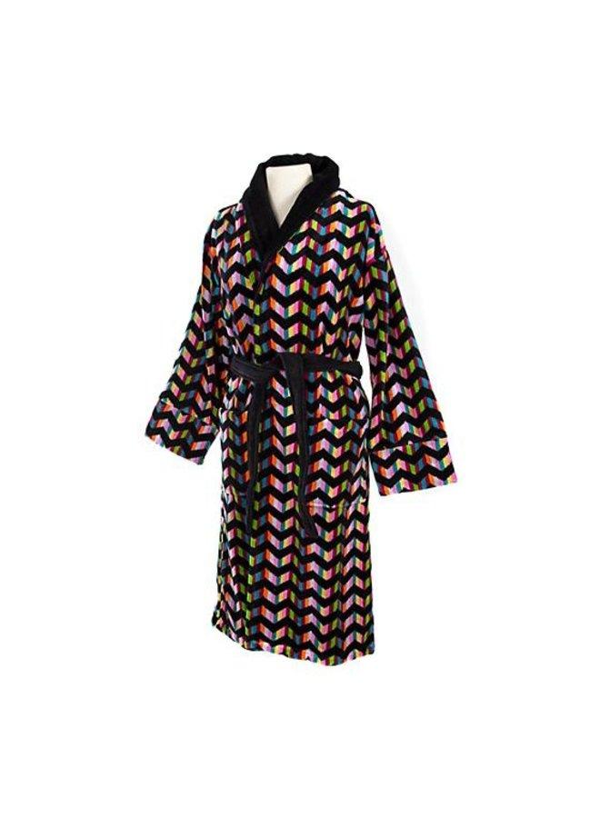 Trampoline Robe-Black