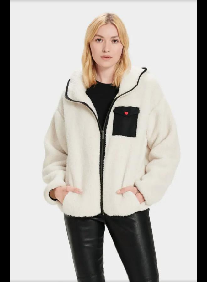Kadence Zipper Jacket Cream