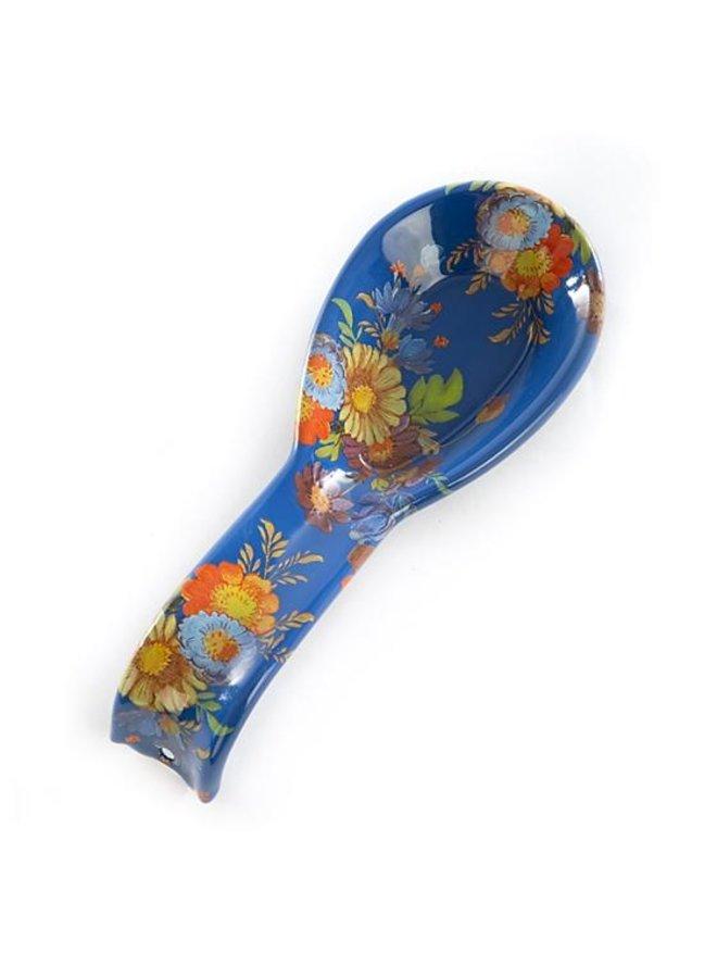 Flower Market Spoon Rest-Lapis