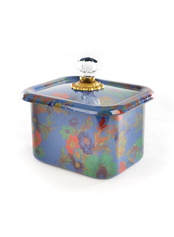 Flower Market Recipe Box-Lapis