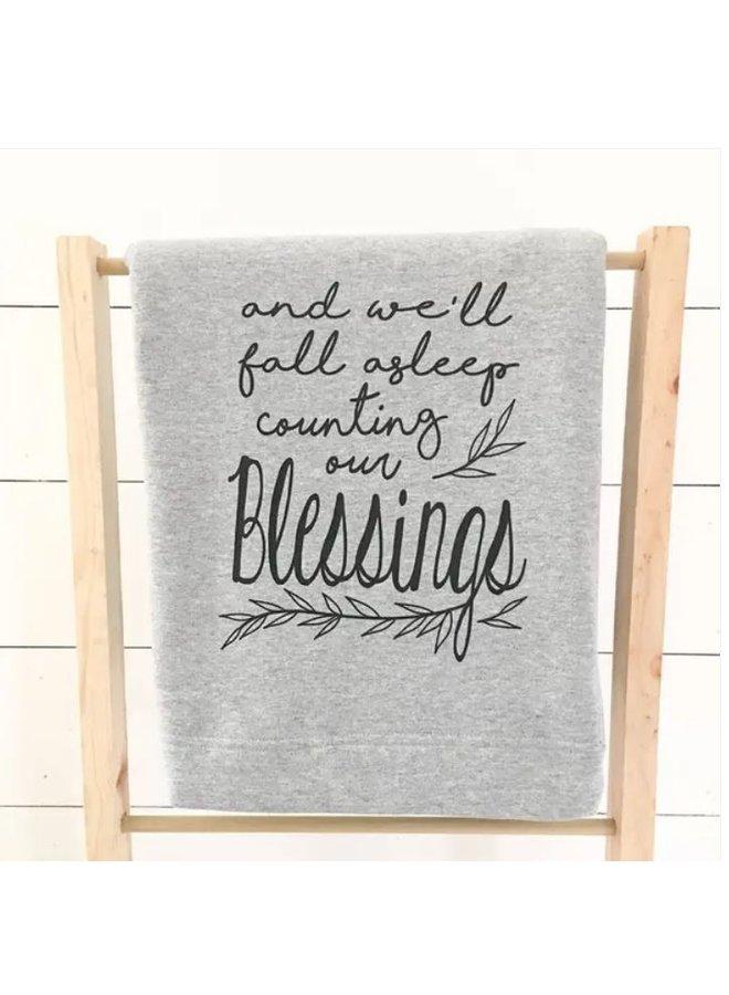 Count Our Blessings Sweatshirt Blanket
