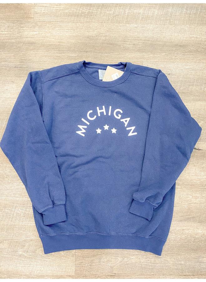 Michigan Crew Neck