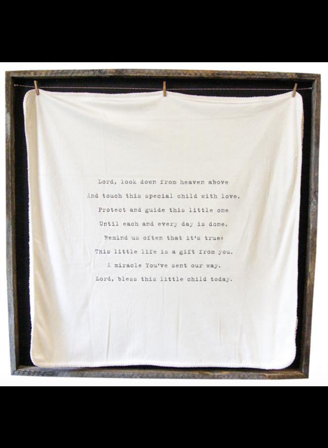 Baby Blanket- Lord Look Down