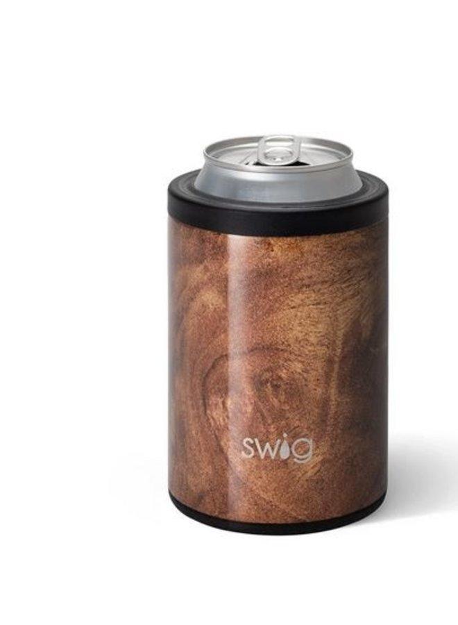 12oz Combo Cooler - Black Walnut