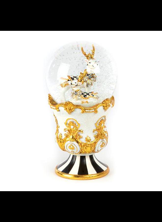 Golden Hour Deer Snow Globe