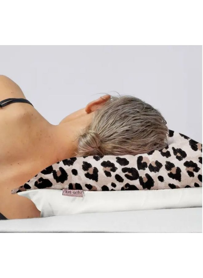 Towel Pillowcover- Leopard