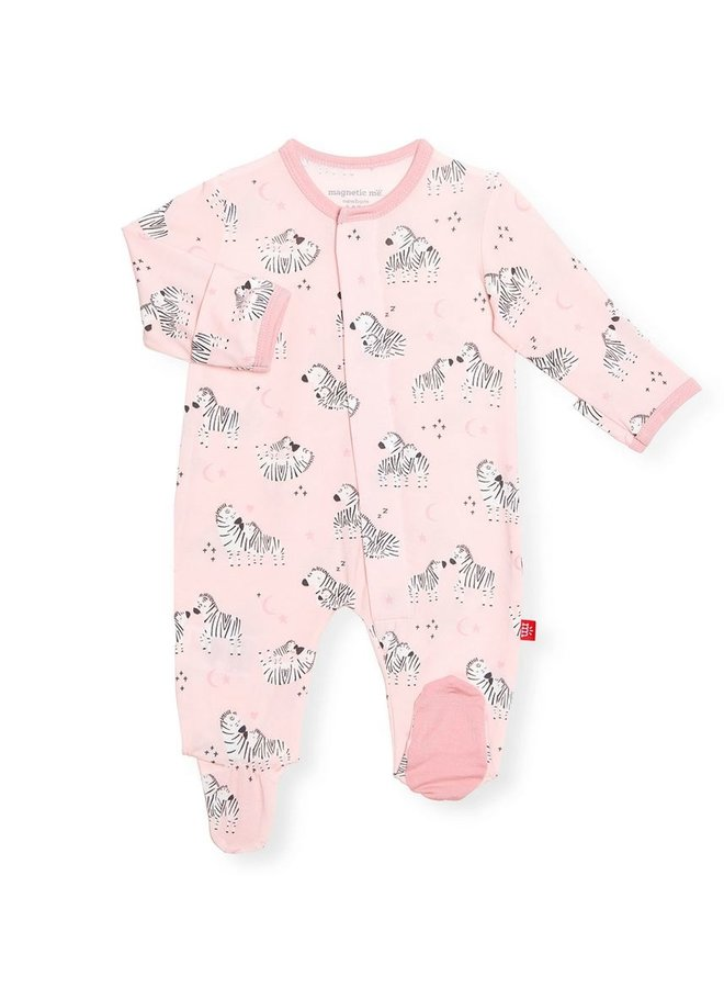 Pink Little One Magnetic Onesie