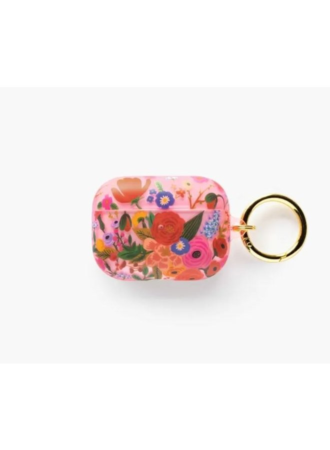 Clear Blush Garden Party Airpod Case Pro