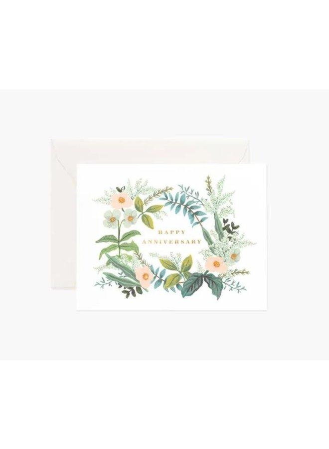 Anniversary Bouquet Card