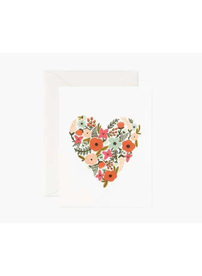 Floral Art Card