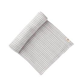 Pehr Stripe Swaddle Grey