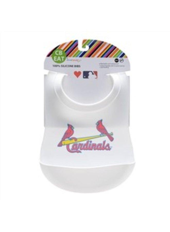Chewbeads MLB Baby Gameday Bib with Crumb Catcher - St. Louis Cardinals