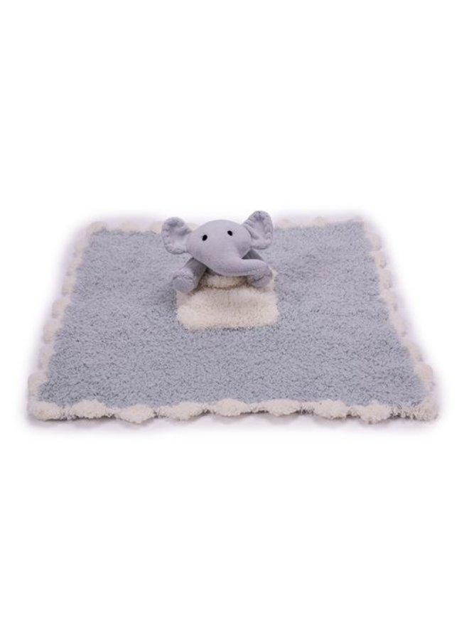 CozyChic Pocket Buddie - Ocean/Elephant