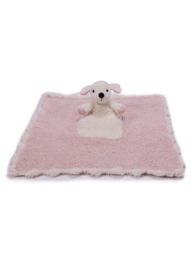 CozyChic Pocket Buddie - Dusty Rose/Puppy