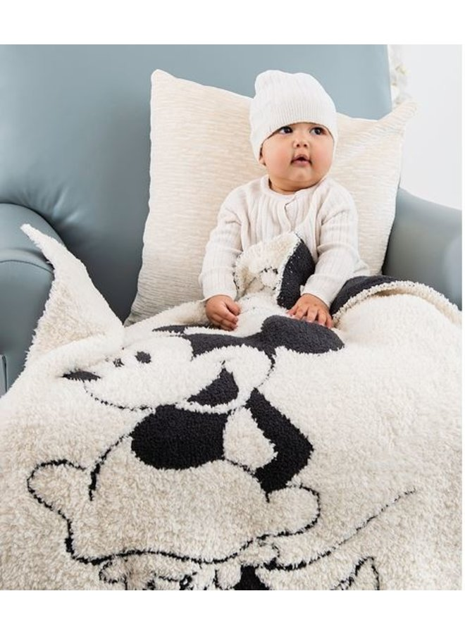 CozyChic Classic Mouse Baby Blanket- Minnie