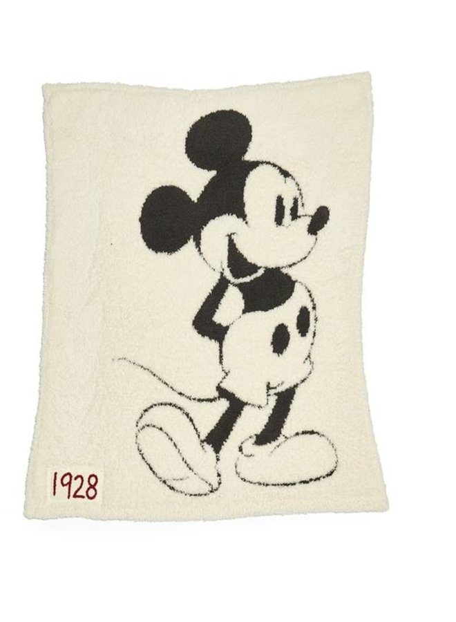 CozyChic Classic Mouse Baby Blanket- Mickey
