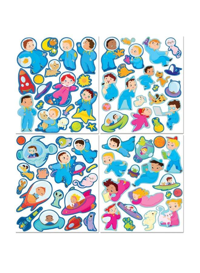 Sticker Activity Tote