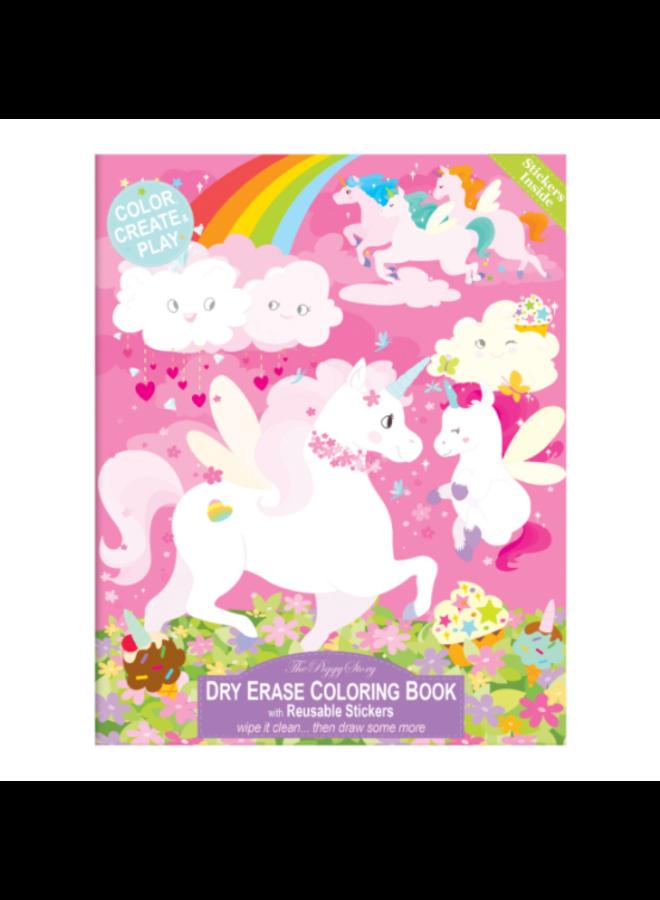 Dry Erase Coloring Book