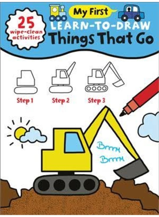 My First Learn-To-Draw Book : Things That Go