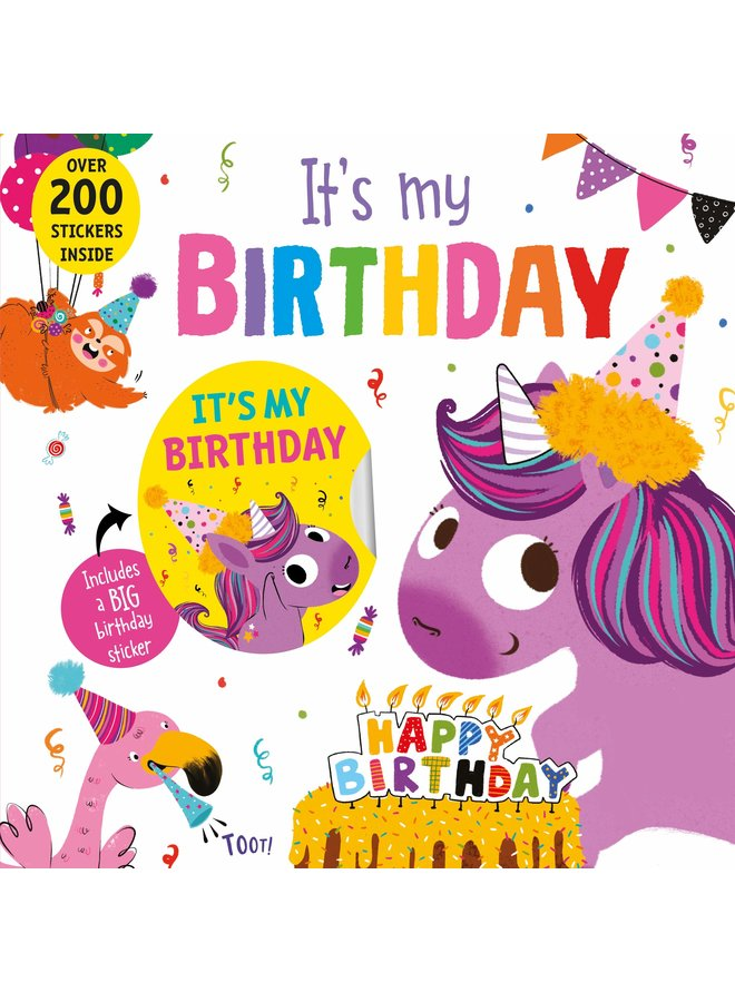 It's My Birthday Book (Unicorn)