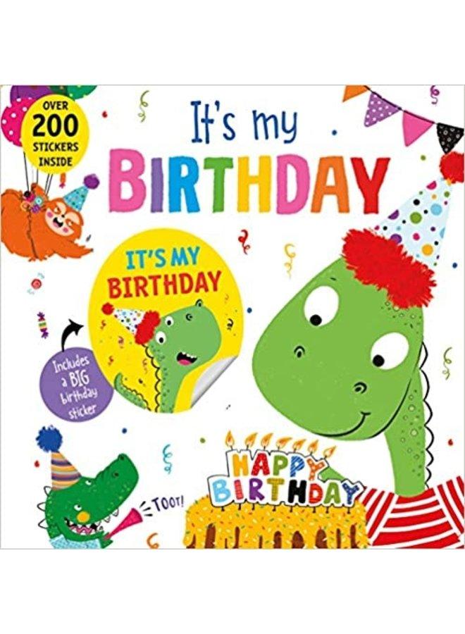 It's My Birthday Book (Dinosaur)