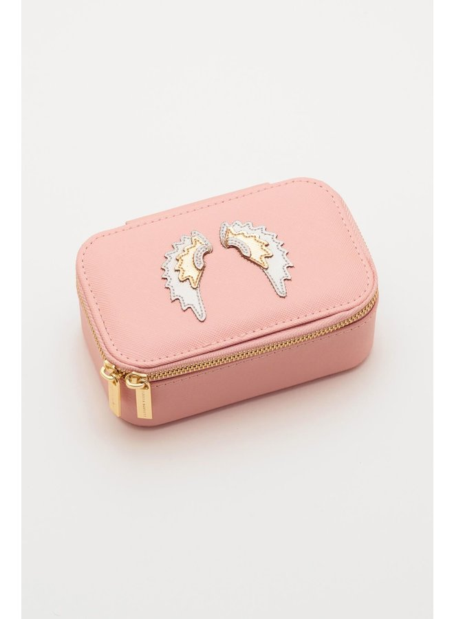 Mini Jewelery Box with Applique