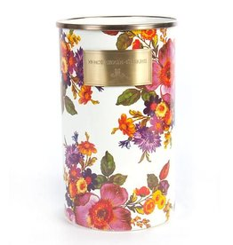 MacKenzie-Childs Flower Market Utensil Holder-White