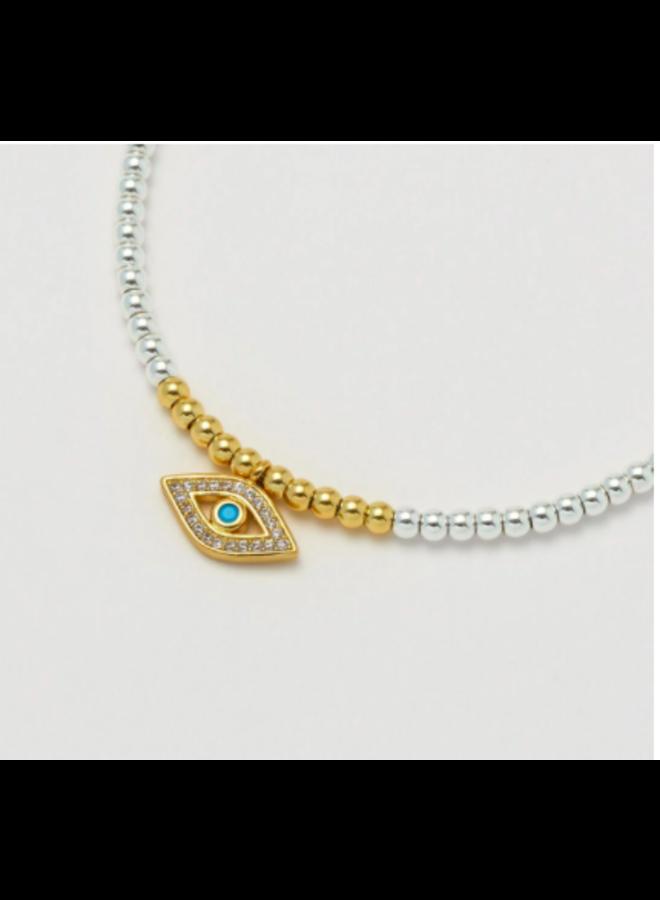 Eye with Turquoise Liberty Bracelet