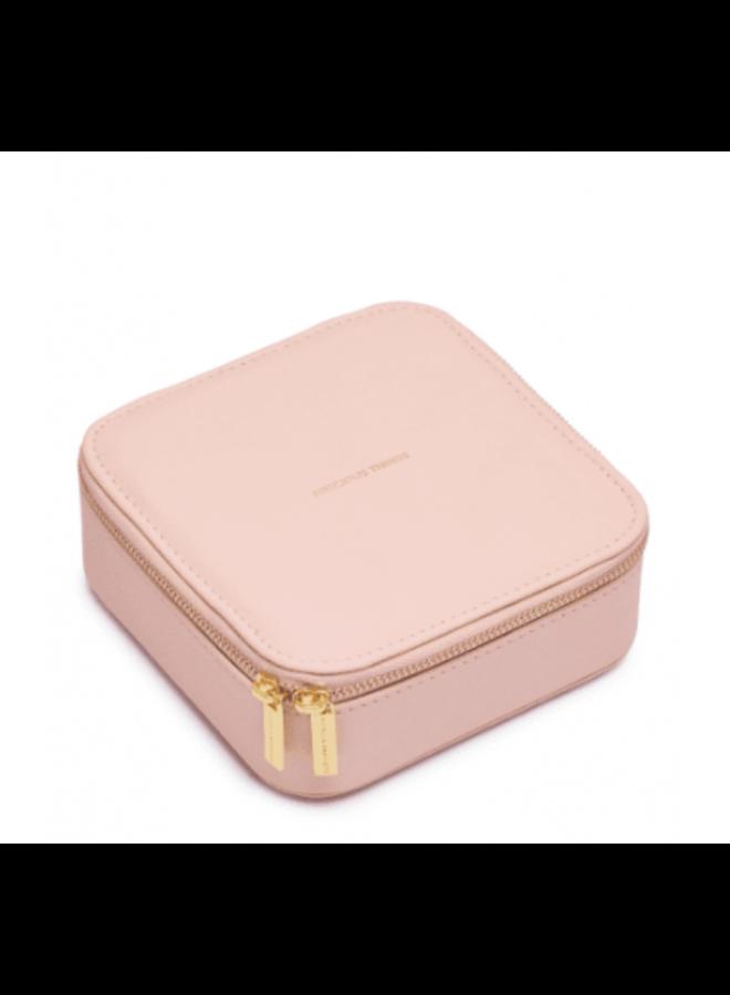 Square Jewelery Box- Blush