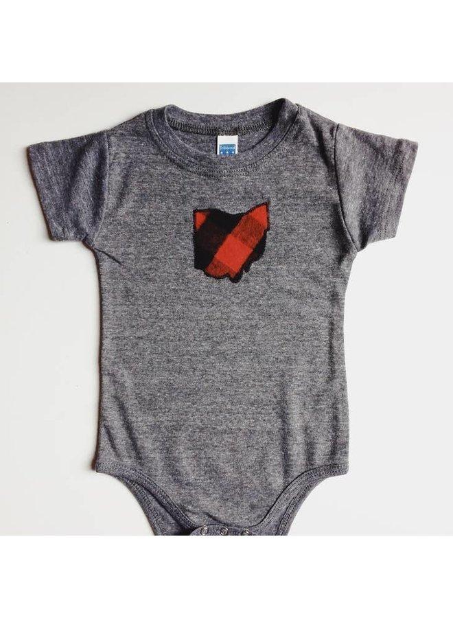 Ohio Baby Bodysuit -