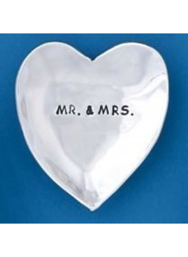 Mr & Mrs Large Charm Bowl