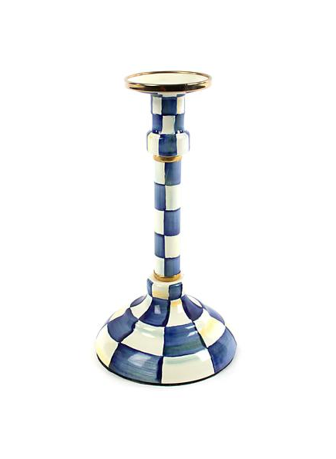 Royal Check Candlestick - Mighty