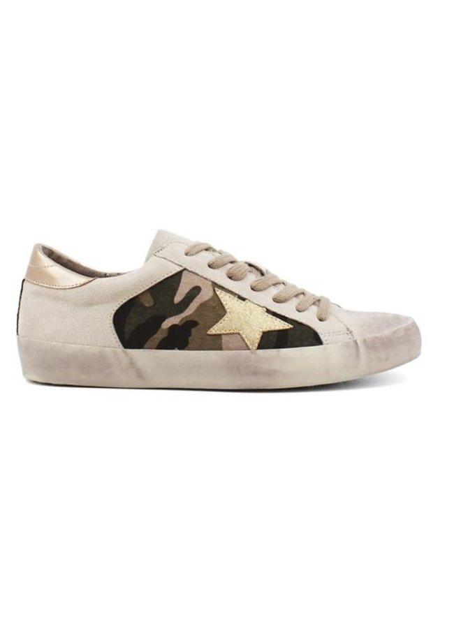 Paula Camouflage Star Sneaker